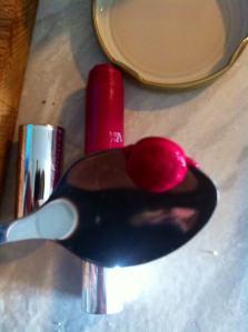 Lippenstiftrest