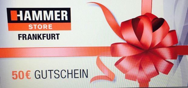 Gutschein Hammer